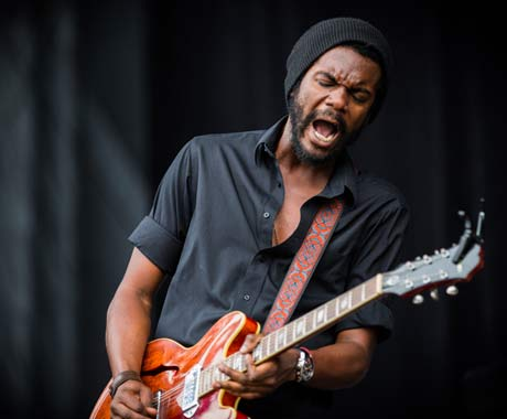 Gary Clark Jr. at Gerald R Ford Amphitheater