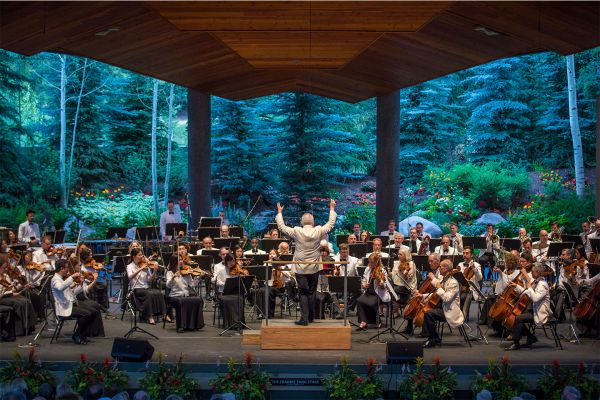 New York Philharmonic: Bramwell Tovey - Tovey and Bronfman at Gerald R Ford Amphitheater