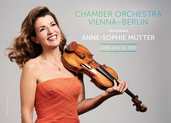 Chamber Orchestra Vienna - Berlin: Anne-Sophie Mutter - Mutter Plays Mozart Part I at Gerald R Ford Amphitheater
