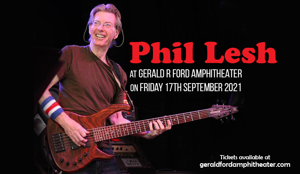 Phil Lesh at Gerald R Ford Amphitheater