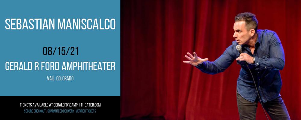 Sebastian Maniscalco at Gerald R Ford Amphitheater