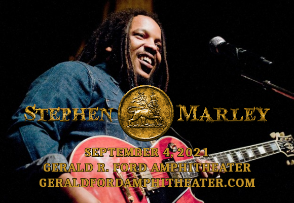 Stephen Marley & Collie Buddz [CANCELLED] at Gerald R Ford Amphitheater